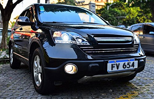 GOWE Car Styling ForHonda CRV headlights 2007-2011 For CRV LED head lamp Angel eye led DRL front light Bi-Xenon Lens xenon Color Temperature:5000K;Wattage:35K 0