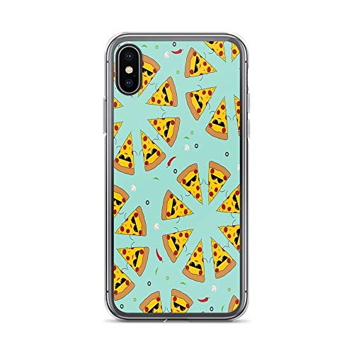 iPhone X/XS Pure Clear Case Cases Cover Pizza Circles