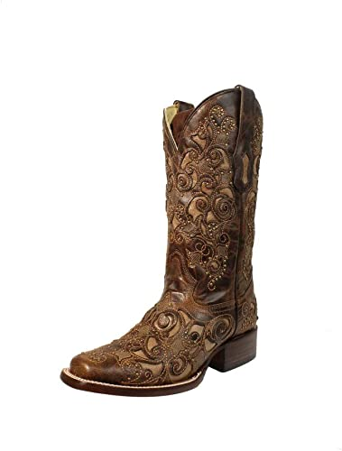 corral women's embroidered boots
