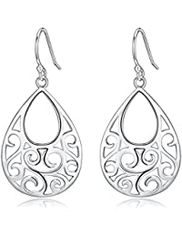 sterling silver earrings jewelry clothing shoes
