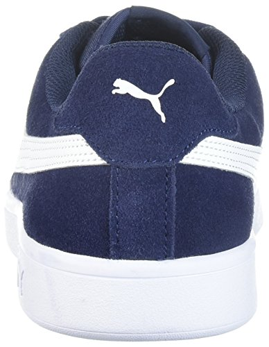 Puma Mannen Smash V2 Sneaker Peacoat-puma Wit