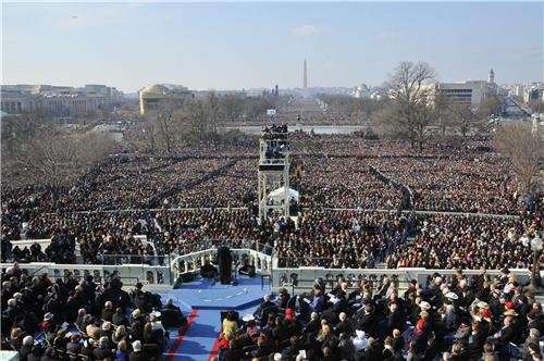 Barack Obama Inauguration Glossy Poster Picture Photo president oath change