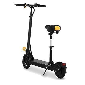LETFF Bicicleta eléctrica Plegable para Adultos de 8 Pulgadas, batería de Litio de 36V 350W para Hombres y Mujeres Mini Scooter eléctrico de Dos Ruedas ...