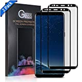 Galaxy s8 Plus Screen Protector Tempered Glass,[Anti-Fingerprint][No-Bubble][Scratch-Resistant] Glass Screen Protector for Samsung Galaxy s8 Plus