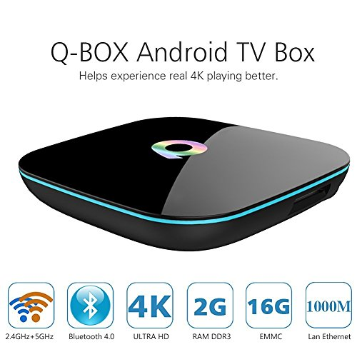 Q Box Android Bluetooth 2 4GHz 5 0GHz product image