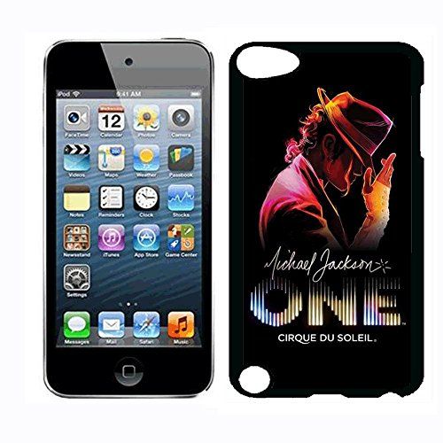 Michael Superstar Jackson Case for iPod Touch 5th iPod Touch 6th,PC Material Hard Case Never Fade (Jackson Ipod Michael Case)