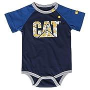 Caterpillar Infant Bodysuit (3 Months, Detroit Blue)