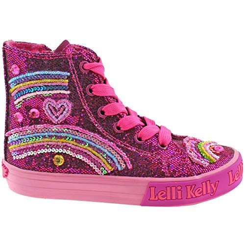Glitter Purple Lk3042 Boots 10 Kelly Lelli 28 uk Tillie gw01 Baseball wpIAn1q