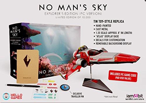 No Man's Sky Explorer's Collectors Edition (GOG) #/10,000