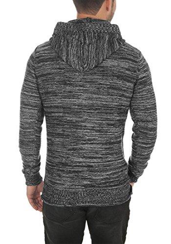 De Capucha 100 Algodón Para solid Melker Suéter Jersey Hombrecon 9000 Black Punto Sudadera EEcAqCy