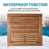 3-Piece Acacia Wood Patio Bistro Set Patio