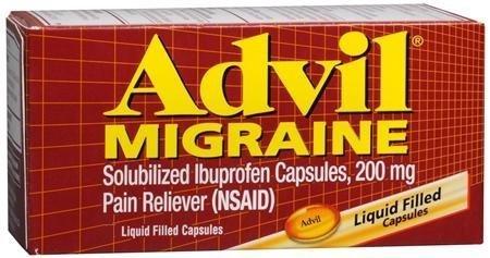 Advil Migraine - 80 rempli de liquide Capsules