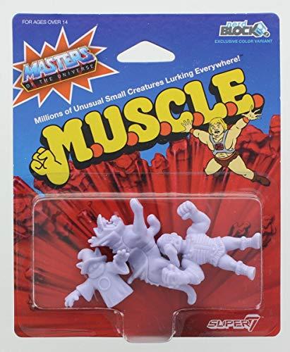 Masters of the Universe M.U.S.C.L.E. Mini Figure 3-Pack: Orko, Battlecat, Fisto -