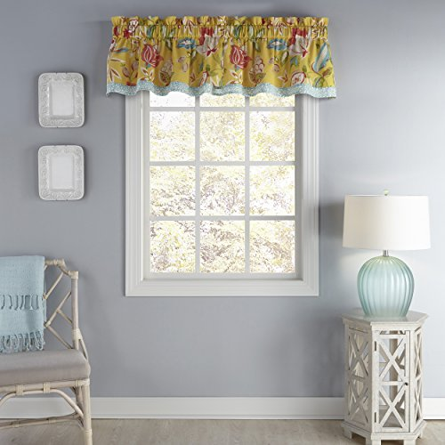 Used, WAVERLY Modern Poetic Window Valance, 52x16, Sunshine for sale  Delivered anywhere in USA