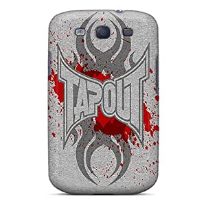 Shock Absorbent Cell-phone Hard Covers For Samsung Galaxy S3 (rfa10001VwiN) Custom Fashion Tapout Skin