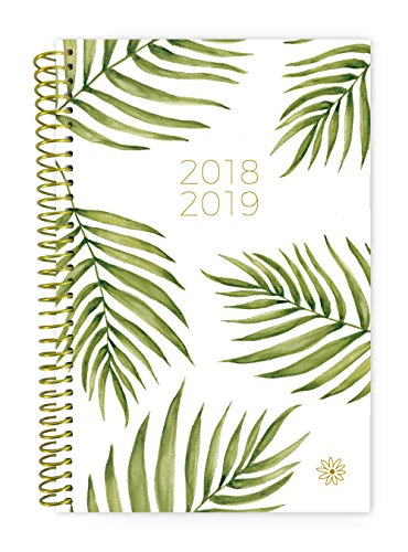 Large Product Image of bloom daily planners 2018-2019 Academic Year Day Planner - Monthly/Weekly Calendar Book - Inspirational Dated Agenda Organizer - (August 2018 - July 2019) - 6
