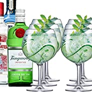 Jogo de Taças Gin Club Cristal 660ml 6 Pcs