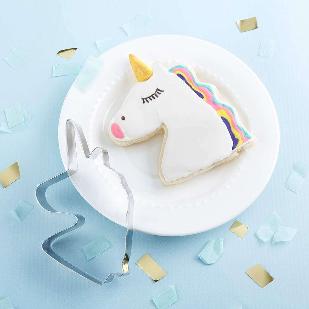 Kate Aspen 14134NA Unicorn, Party Favor or Gift cookie cutter 0 silver by Kate Aspen (Image #5)