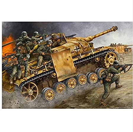 Omaha Beach Soldiers First Wave World War 2 Painting Paint By Numbers Kit DIY