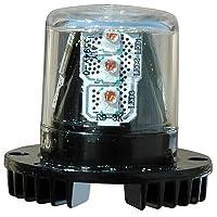 8 Watt Mini LED Strobe Light - Low Profile - 360° Visibility - Multiple Colors(-Red)