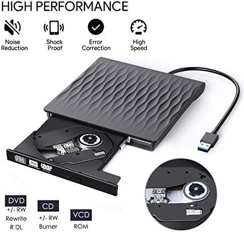 USB 2.0 External CD//DVD Drive for Compaq presario v3709au
