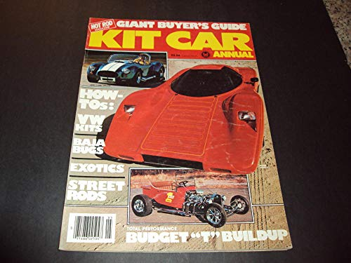 Kit Car Annual 1980 Street Rods, Exotics Baja Bugs ()