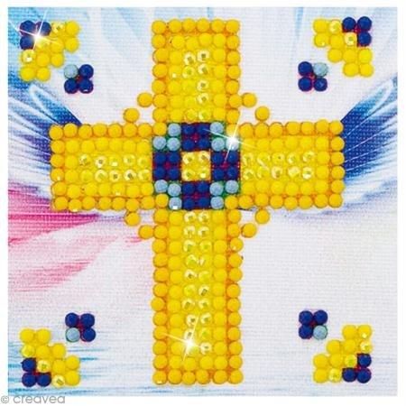 Diamond Golden Cross - Needleart World Golden Cross Diamond Embroidery Kit