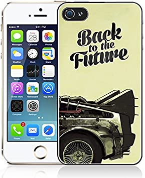 Coque iPhone 6/6S Back To The Future - DeLorean: Amazon.fr ...