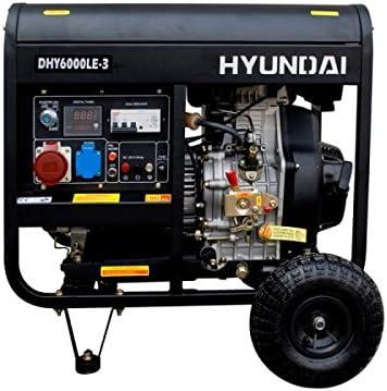Hyundai Generador Diesel Rental DHY6000LEK-3 6.90 KVA