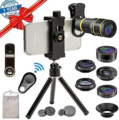 Kit de lentes de cámara para teléfono para iPhone 11Pro Max
