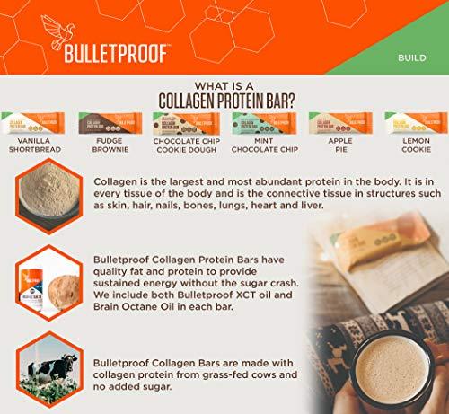 Bulletproof, Bar Protein Choc Brownie Collagen, 1.58 Ounce, 12 Pack by Bulletproof (Image #2)