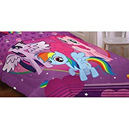My Little Pony Equestria Girls Twin Comforter (Reversible 2 in 1)