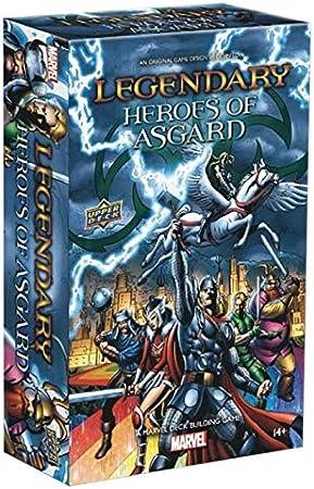 Legendary: Marvel: Heroes of Asgard: Amazon.es: Juguetes y juegos