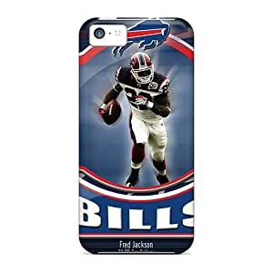 Protective Hard Phone Case For Iphone 5c With Unique Design Stylish Buffalo Bills Series JonathanMaedel