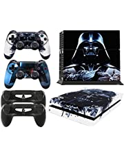 GNG PS4 Console DV from Starwars Skin Decal Vinal Sticker + 2 Controller Skins Set