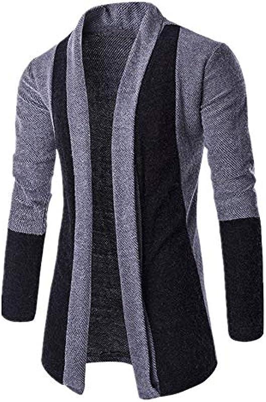 Buby męska kurtka z długim rękawem, otwarta, kardigan, długa bluza z kapturem, chłopięca kurtka z kapturem, patchwork, zawartość bawełny, podstawowa kurtka przejściowa na zim&