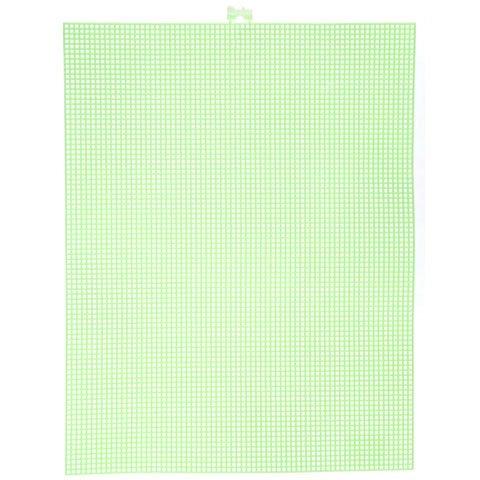 Bulk Buy: Darice DIY Crafts #7 Mesh Plastic Canvas Neon G...