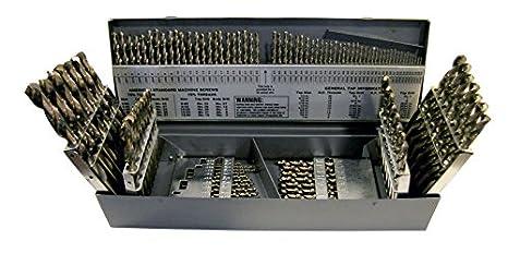 "Stub - USA- 135° Pt Cobalt Screw Machine 12 Pieces Lgth Drill .1730/"" #17"