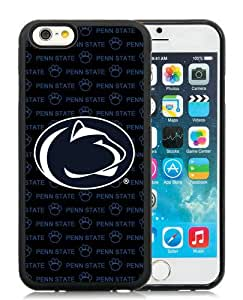 Popular iPhone 6/6S 4.7 inches Ncaa Big Ten Conference Football Penn State Nittany Lions 5 Black Screen TPU Phone Case Genuine and Cool Design