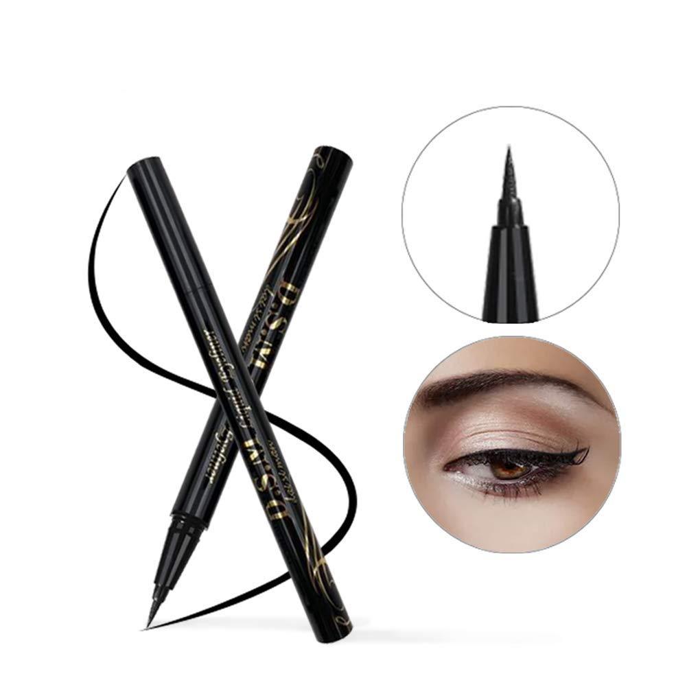 Waterproof Liquid Eyeliner, Black, Lasting Eye Liner Pencil Makeup by SEILANC SEILANCM JS-EL