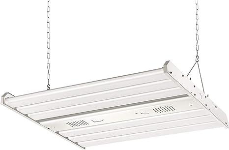 Hykolity LED High Bay Shop Light 4FT 325W Linear LED Industrial Workshop Ligh...