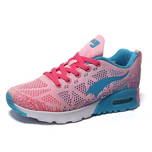 Sportive ONEMIX Fitness Donna Rosa Corsa Scarpe 3 Running Sneakers da Uomo Ginnastica rqn6SqWwYT