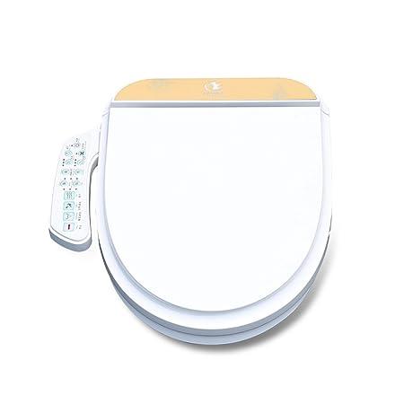 smart toilet seat elongated koyida p006 witt auto heated bidet lids hip cleaning and
