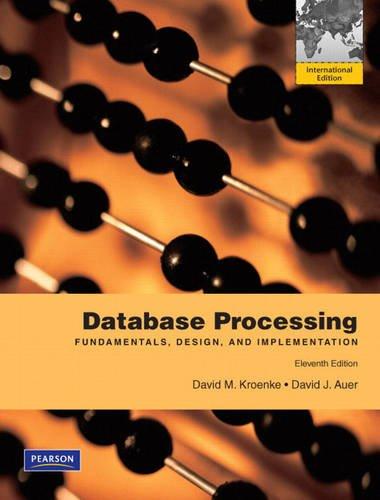 Database Processing: International Edition auer-david-kroenke-david-m
