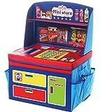 NANAMI Children's Storage Creative Bin Play Toy Box Baby Ssimulation Kitchen Utensils Appliances (Bule)