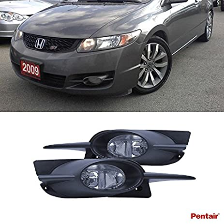 Amazoncom Pentair 2pcs Aftermarket JDM Clear Lens Fog Lights Kit
