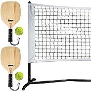 Franklin Sports 52731 Pickleball Starter Set - Official Starter Set of The US Open - Includes Net, (2) Paddles