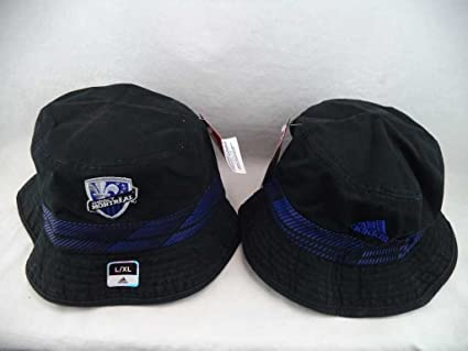 Amazon.com   Montreal Impact Adidas MLS Black Bucket Hat Cap L XL ... fc14452fdc4