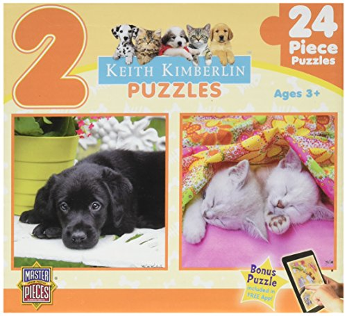 Masterpieces Soft Snuggles Puzzle (2-Pack)