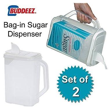 Bag in Sugar Dispensers (Clear) (10 H x 9 W x 5 D)
